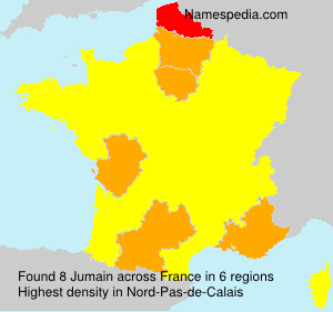 Surname Jumain in France