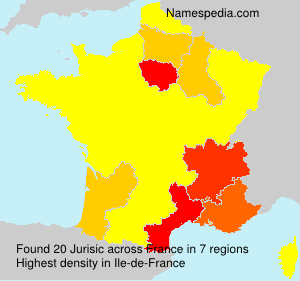 Surname Jurisic in France