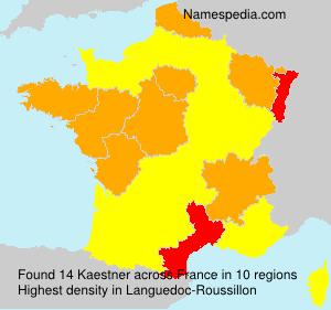 Surname Kaestner in France