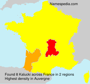 Surname Kalucki in France