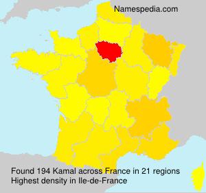 Surname Kamal in France