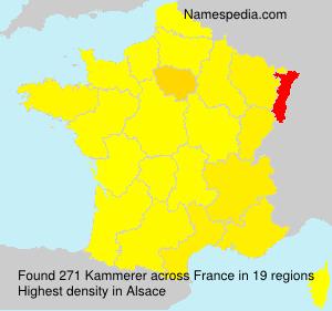 Surname Kammerer in France