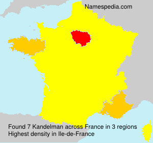 Surname Kandelman in France