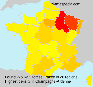 Surname Karl in France