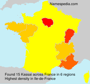 Surname Kassai in France