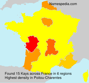 Surname Kays in France
