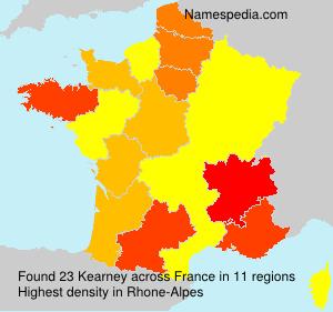 Surname Kearney in France