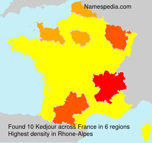 Surname Kedjour in France