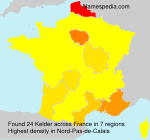 Surname Kelder in France