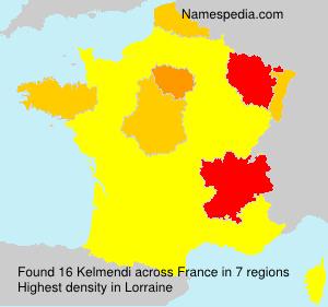 Familiennamen Kelmendi - France