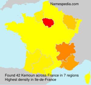 Surname Kemoun in France