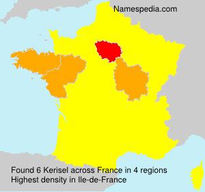Surname Kerisel in France