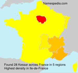 Surname Kessar in France