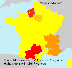 Surname Kesseiri in France