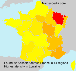 Surname Kesseler in France