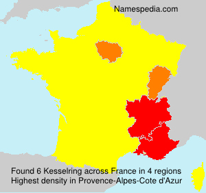 Surname Kesselring in France