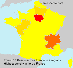 Surname Kessis in France