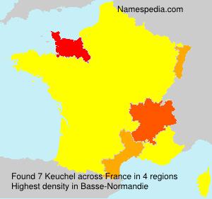 Familiennamen Keuchel - France