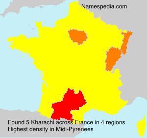 Familiennamen Kharachi - France