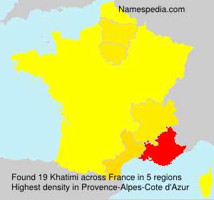 Surname Khatimi in France