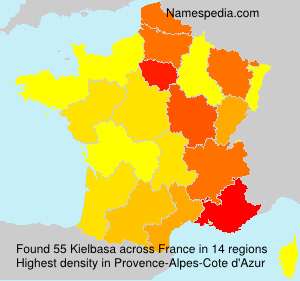 Surname Kielbasa in France