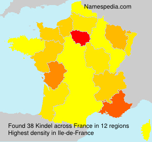 Surname Kindel in France