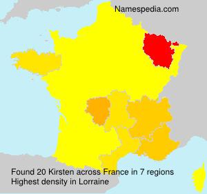 Kirsten - France