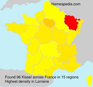 Surname Kissel in France