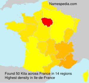 Surname Kita in France