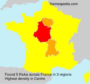 Familiennamen Kluka - France