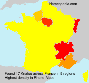 Surname Knafou in France