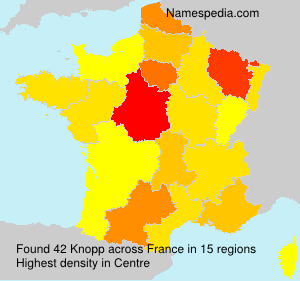 Surname Knopp in France