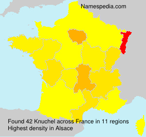 Surname Knuchel in France