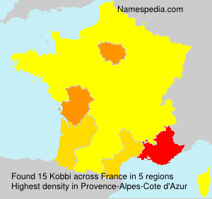 Surname Kobbi in France