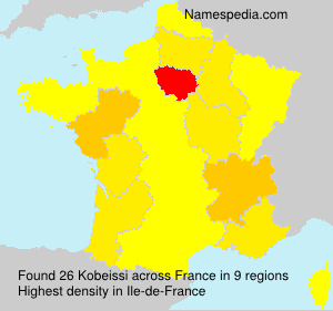 Surname Kobeissi in France