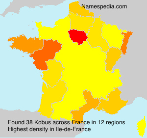 Surname Kobus in France