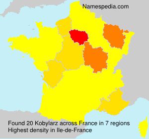 Surname Kobylarz in France