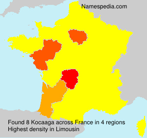 Surname Kocaaga in France