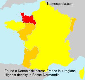 Konopinski - France