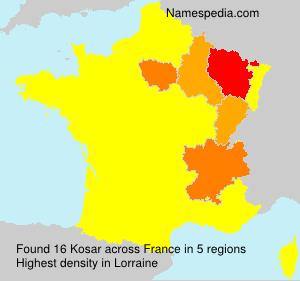 Surname Kosar in France