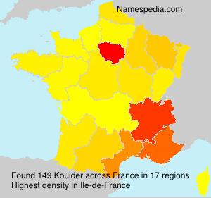 Surname Kouider in France