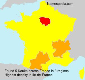 Surname Kouita in France