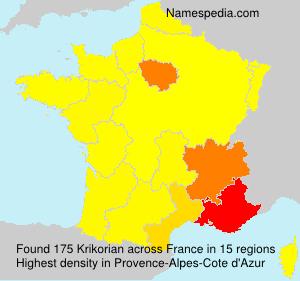 Krikorian - France