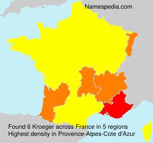 Familiennamen Kroeger - France