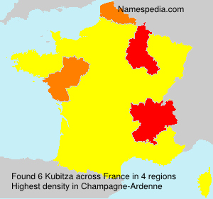Surname Kubitza in France