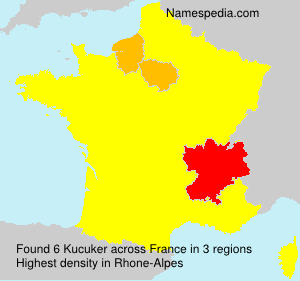 Surname Kucuker in France