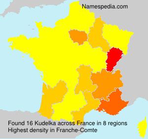 Familiennamen Kudelka - France