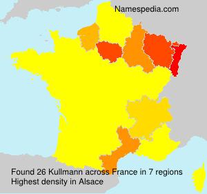 Surname Kullmann in France