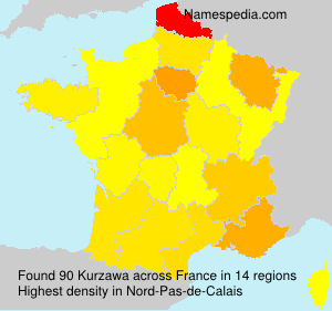 Surname Kurzawa in France