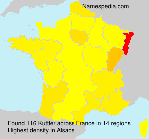 Surname Kuttler in France